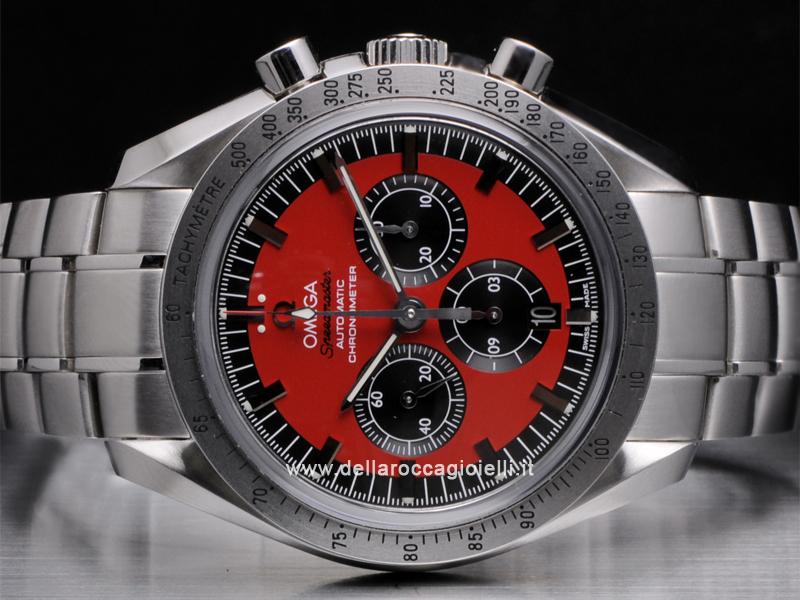 Omega Speedmaster Schumacher The Legend Collection Stainless Steel Watch 35066100