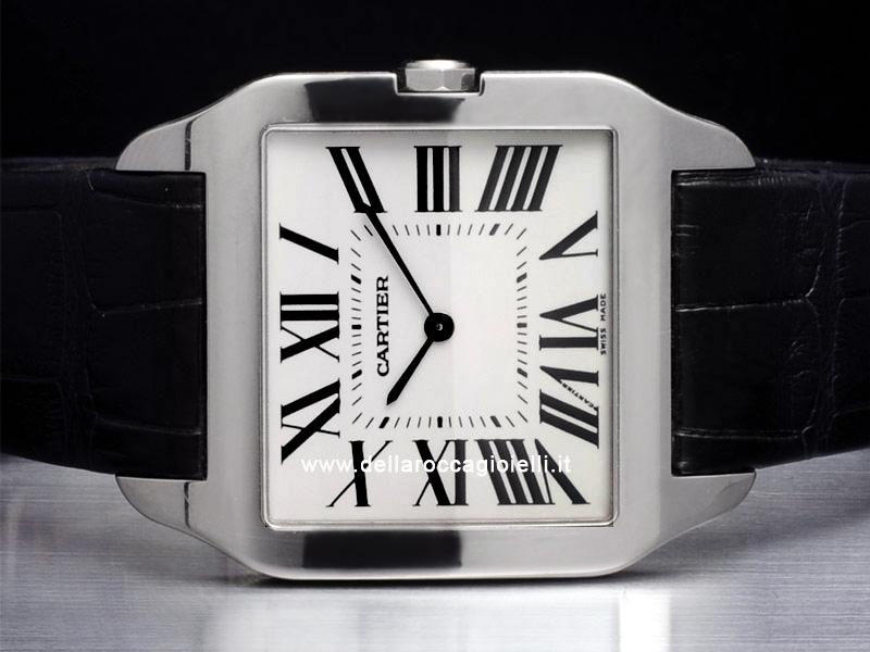 Cartier Santos Dumont LM White Gold Watch W2007051