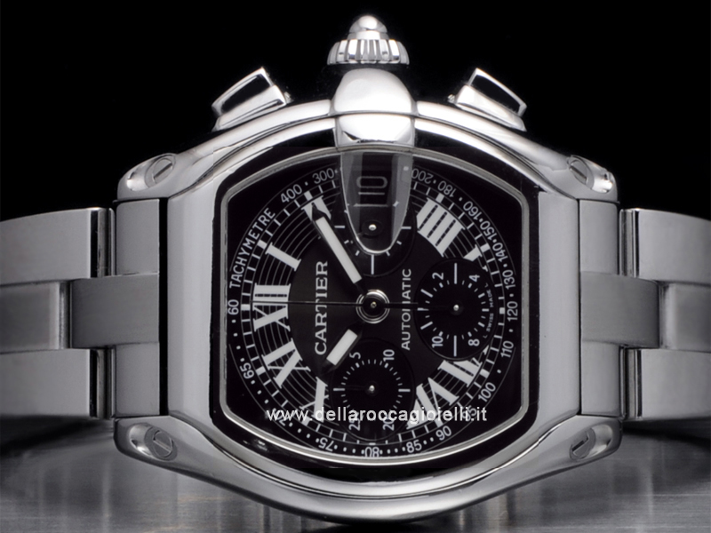 Cartier Roadster Chronograph Stainless Steel Watch W62020X6