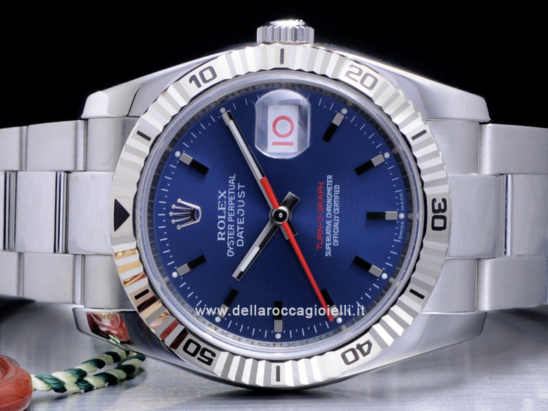 Rolex Turn O Graph Blue