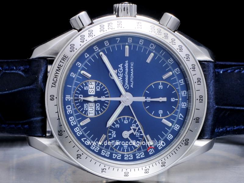 Omega Speedmaster Day-Date Stainless Steel Watch 3523.8000