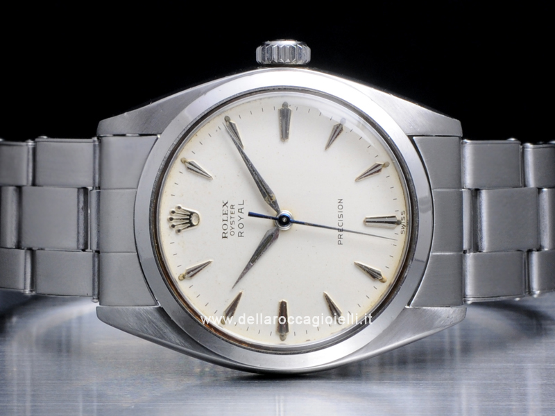 Rolex Oyster Royal Precision Stainless Steel Watch 6426