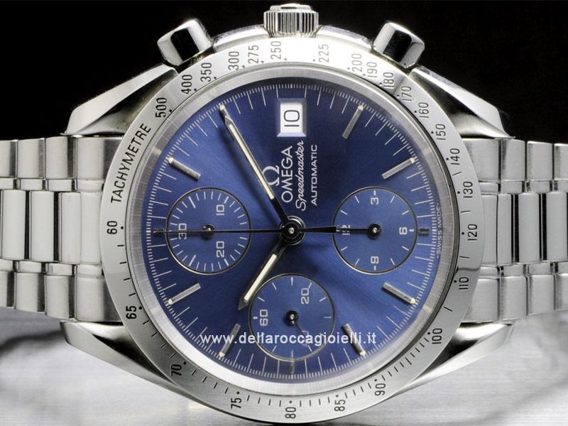 omega speedmaster date blue Omega speedmaster date ad: 1,497 € omega speedmaster date ref no 351180 steel omega speedmaster date automatic chronograph - blue dial 1,688.