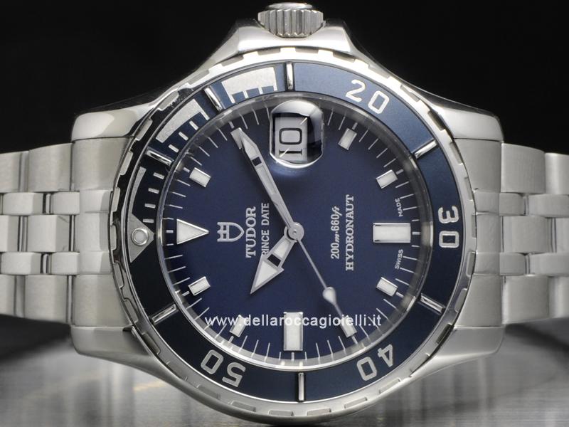 Tudor Prince Date Hydronaut 89190 Dark Blue Dial Della