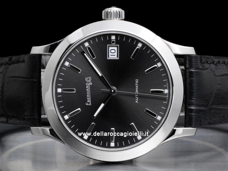 Eberhard Amp Co Aiglon 41116 Black Dial Della Rocca Gioielli