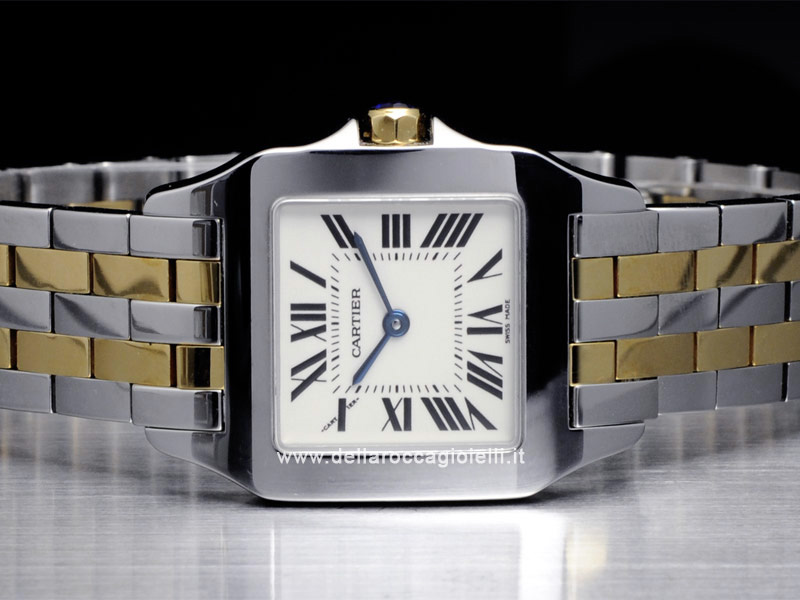 Cartier Santos Demoiselle Steel and Gold Watch W25067Z6