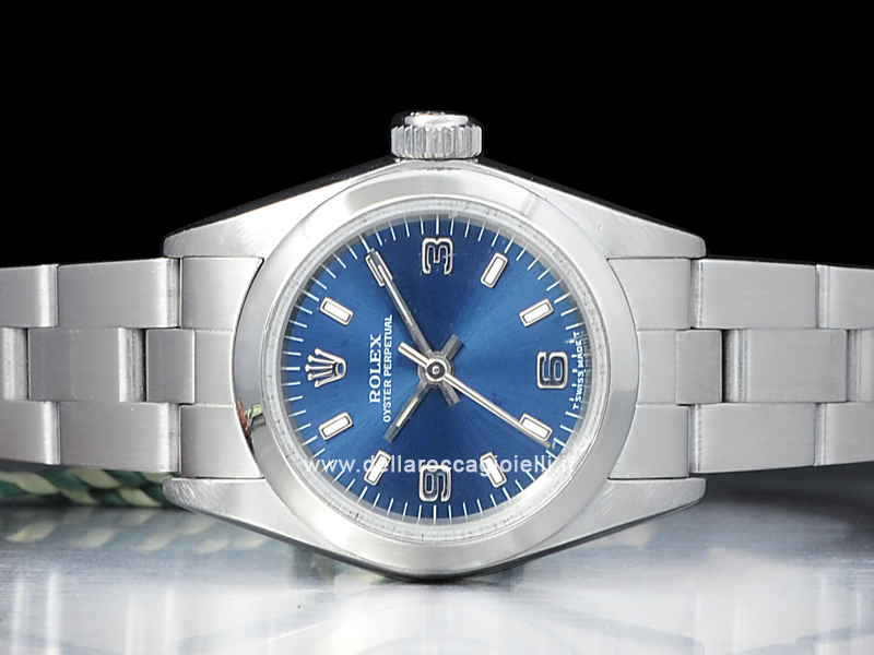 rolex oyster perpetual blue
