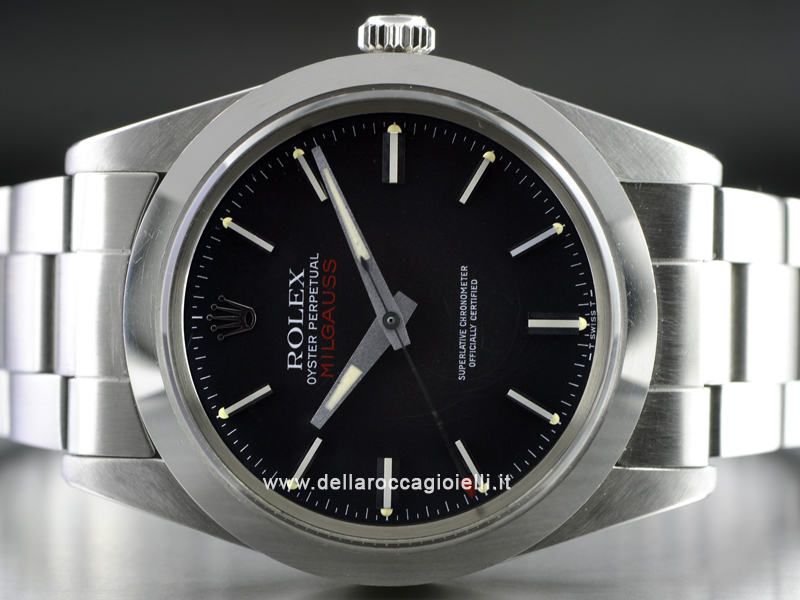 Rolex Milgauss Stainless Steel Watch - Ref. 1019