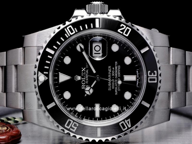 c49ed9dab80 ... Rolex Submariner Data 116610LN Ghiera Ceramica Quadrante Nero ...
