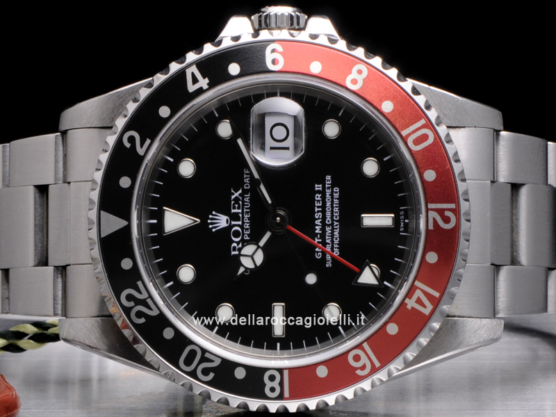 Rolex Gmt Master Ii 16710 Oyster Ghiera Rosso Nera