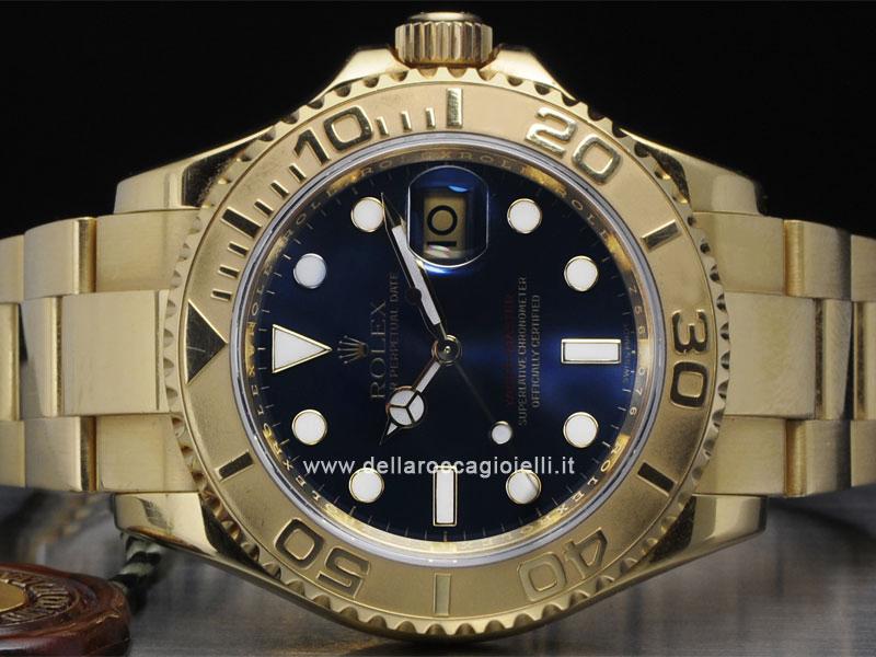 vendita calda online 503a8 09879 Rolex Yacht-Master Oro 16628 :: Della Rocca Gioielli