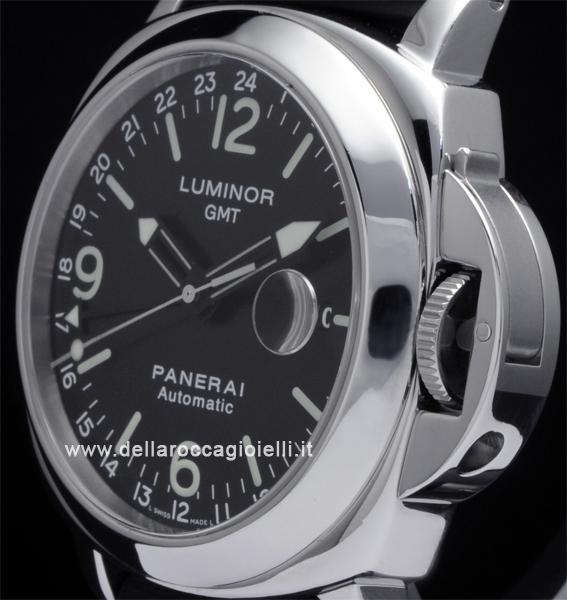 miglior servizio 0de1e d3d83 Officine Panerai Luminor GMT PAM 63 Quadrante Nero :: Della ...