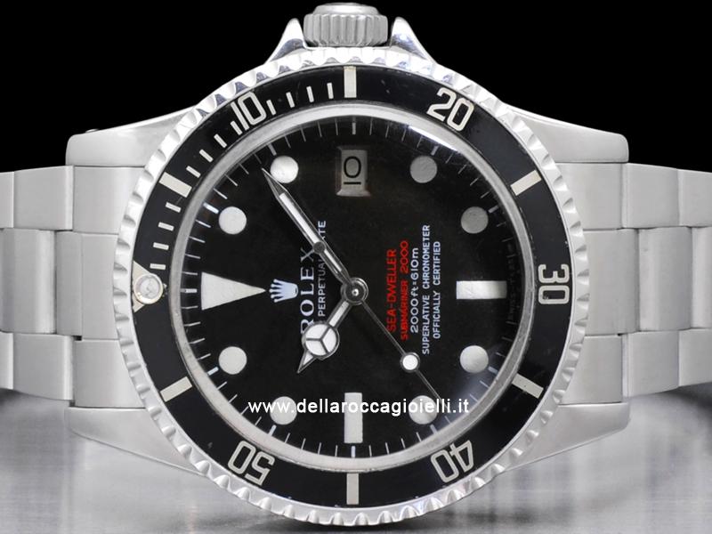 01c3cf30dec Rolex Sea-Dweller 1665 Doppia Scritta Rossa Submariner 2000    Della ...