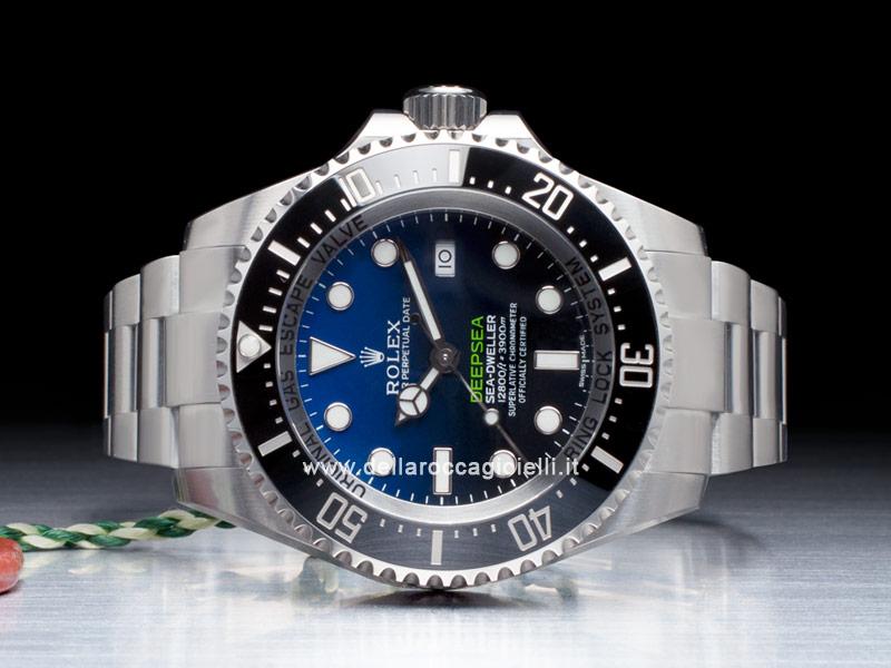 3dbcd176694 Rolex Sea-Dweller DEEPSEA 126660 Quadrante D-Blue    Della Rocca ...