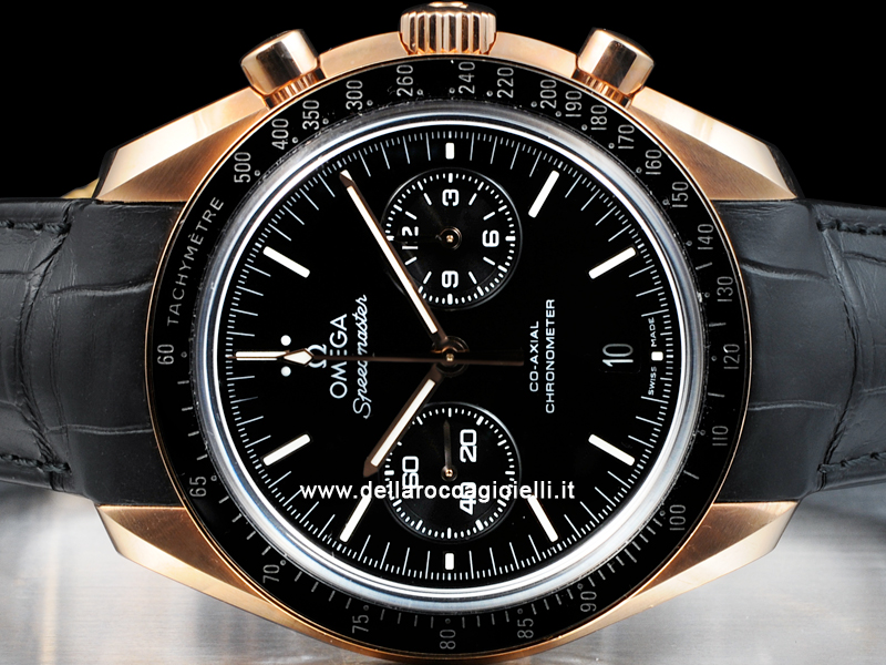 nuovo di zecca 23af1 534a0 Omega Speedmaster Moonwatch Co-Axial 31163445101001 Oro Rosa ...