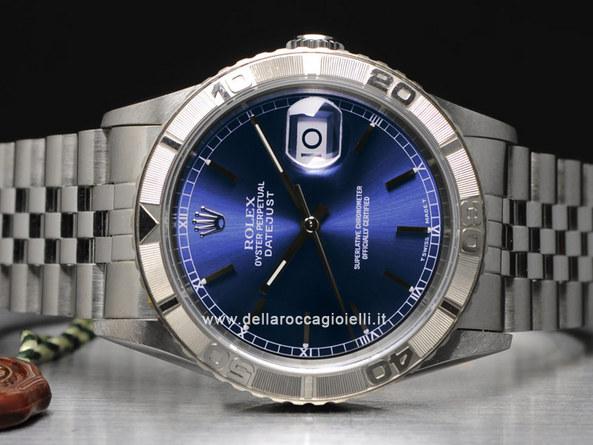Rolex Datejust Turn O Graph 16264 Della Rocca Gioielli