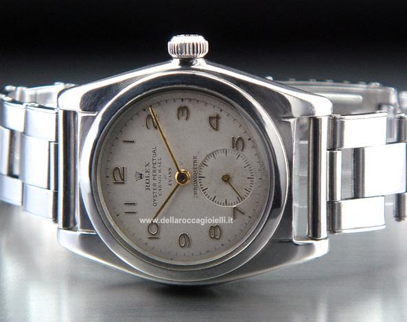vasta selezione di eb581 37561 Rolex Ovetto (Bubbleback) - Ref. 2764 :: Della Rocca Gioielli