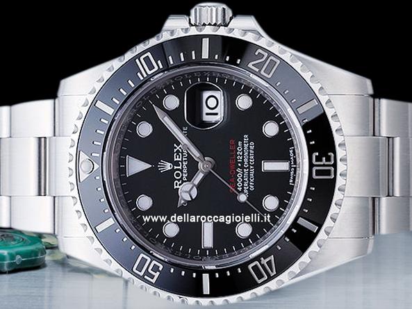design di qualità 4ac0b 179fe Rolex Sea-Dweller Scritta Rossa 126600 50esimo Quadrante ...