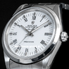 Rolex Air-King 34 Oyster Quadrante Bianco Romani 14000