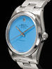 Rolex Air-King 34 Oyster Quadrante Tiffany Turchese 14000