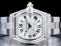 Cartier Roadster 895383CD Quadrante Argento Romani