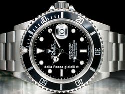 Rolex Submariner Data 16610 Quadrante Nero