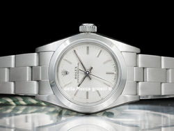 Rolex Oyster Perpetual Lady 67180 Oyster Quadrante Argento