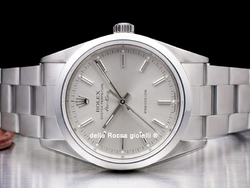 Rolex Air-King 14000M Oyster Quadrante Argento