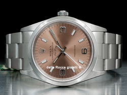 Rolex Air-King 14000 Oyster Quadrante Rosa Arabi 3-6-9