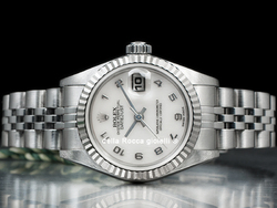 Rolex Datejust Lady 69174 Jubilee Quadrante Madreperla Arabi
