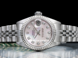 Rolex Datejust Lady 79174 Jubilee Quadrante Madreperla Diamanti