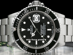 Rolex Submariner Data Transizionale 168000 Oyster Quadrante Nero Spider