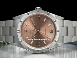 Rolex Air-King 14010M Quadrante Rosa Arabi 3-6-9