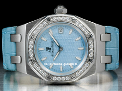 Audemars Piguet Royal Oak Lady 67601ST Turchese Ghiera Diamanti