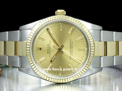 Rolex Oyster Perpetual 34 14233 Oyster Quadrante Champagne