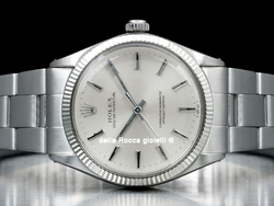 Rolex Oyster Perpetual 1005 Oyster Quadrante Argento