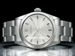 Rolex Oyster Perpetual Medio 6748 Oyster Quadrante Argento