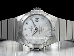 Omega Constellation Lady Co-Axial 12310312055001 Quadrante Madreperla Diamanti