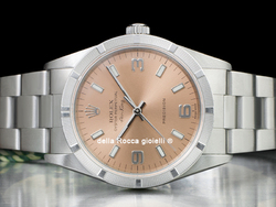 Rolex Air-King 34 Oyster Quadrante Rosa Arabi 3-6-9 14010M