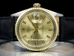 Rolex Datejust 36 Quadrante Champagne Wide Boy 1601