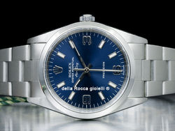 Rolex Air-King 34 Oyster Quadrante Blu Arabi 3-6-9 14000M