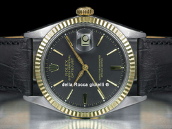 Rolex Datejust 36 Quadrante Nero 1601