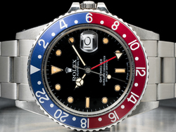Rolex GMT Master 16750 Oyster Ghiera Rosso Blu Pepsi