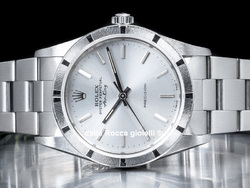 Rolex Air-King 34 Quadrante Argento 14010