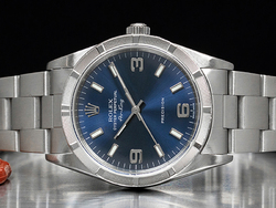 Rolex Air-King 34 Quadrante Blu Arabi 3-6-9 14010M