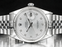 Rolex Datejust 36 Jubilee Quadrante Argento Diamanti After Market 1601