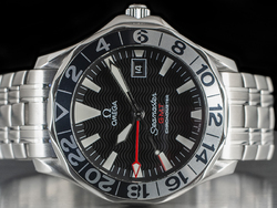 Omega Seamaster 300M GMT 50th 2534.50 Quadrante Nero