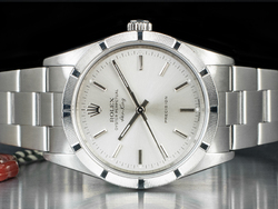 Rolex Air-King 34 Oyster Quadrante Argento 14010