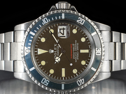 Rolex Submariner 1680 Mark III Scritta Rossa Meter First Quadrante Brown Tropical