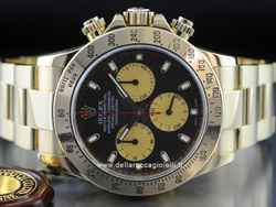 Rolex Daytona Cosmograph Gold Watch 116528 Paul Newman Dial